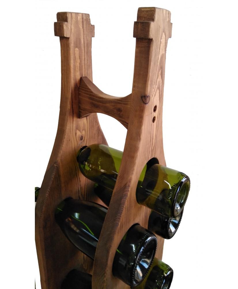 Botellero madera 15 botellas vino/cava